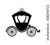 carriage flat icon.vector icon... | Shutterstock .eps vector #408240721