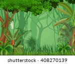 illustration of forest... | Shutterstock . vector #408270139