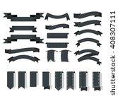 ribbon icons | Shutterstock .eps vector #408307111