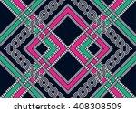 geometric ethnic oriental... | Shutterstock .eps vector #408308509