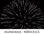 large firework | Shutterstock . vector #408313111