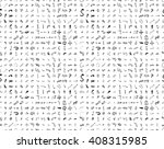 hand drawn doodle seamless... | Shutterstock .eps vector #408315985