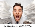 emotional stress. | Shutterstock . vector #408326704