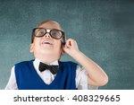 professor. | Shutterstock . vector #408329665