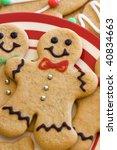 gingerbread men | Shutterstock . vector #40834663
