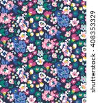 trendy seamless floral pattern... | Shutterstock .eps vector #408353329