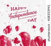 canada independence day... | Shutterstock .eps vector #408353941