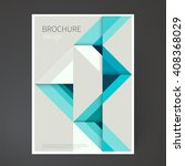 cover design template. brochure ... | Shutterstock .eps vector #408368029