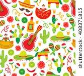cinco de mayo  fifth of may ... | Shutterstock .eps vector #408371815