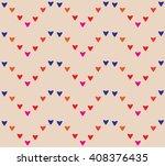 seamless heart pattern  heart...   Shutterstock .eps vector #408376435