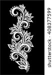 beautiful monochrome black and... | Shutterstock .eps vector #408377599