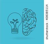brain storm design    Shutterstock .eps vector #408385114