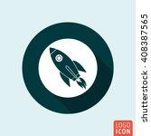 rocket icon. rocket launch...