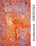 close up of peeling paint on a... | Shutterstock . vector #408392365