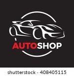 original auto motor concept... | Shutterstock .eps vector #408405115