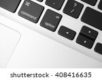 keyboard close up | Shutterstock . vector #408416635