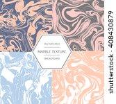 vector trendy marbling... | Shutterstock .eps vector #408430879