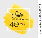 season spring sale 40  off sign ... | Shutterstock .eps vector #408443011