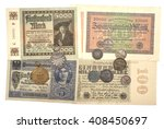 collectibles coins banknotes... | Shutterstock . vector #408450697