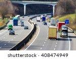 truck on highway | Shutterstock . vector #408474949