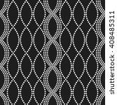 vector seamless chain pattern.... | Shutterstock .eps vector #408485311