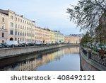 st.petersburg  russia  october  ... | Shutterstock . vector #408492121
