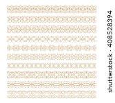 vintage decorative pattern... | Shutterstock .eps vector #408528394