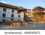 kathmandu  nepal   february... | Shutterstock . vector #408545071