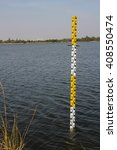 Pole Measuring Water Levels In...