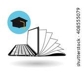 flat illustration about digital ... | Shutterstock .eps vector #408555079