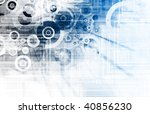 grunge web application software ... | Shutterstock . vector #40856230