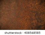old metal iron rust texture | Shutterstock . vector #408568585