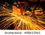 industrial welding automotive... | Shutterstock . vector #408612961