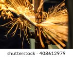 industrial welding automotive... | Shutterstock . vector #408612979