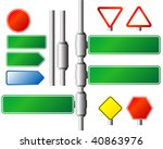 abstract vector illustration of ... | Shutterstock .eps vector #40863976