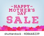 happy mother's day sale... | Shutterstock .eps vector #408668239