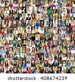 collection of different... | Shutterstock . vector #408674239