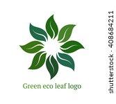design ecology icon logo vector | Shutterstock .eps vector #408684211