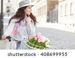 fashion style photo of a spring ... | Shutterstock . vector #408699955
