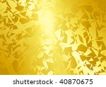abstract  golden vector...