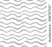seamless hand drawn wavy pattern | Shutterstock .eps vector #408707947