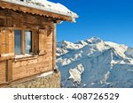 Winter Chalet In French Alps...