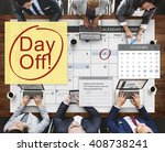 day off holiday vacation... | Shutterstock . vector #408738241