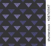 simple triangle seamless... | Shutterstock .eps vector #408765547