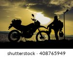 motorcycle diary | Shutterstock . vector #408765949