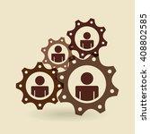teamwork concept design  | Shutterstock .eps vector #408802585