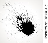 vector ink stain | Shutterstock .eps vector #408803119
