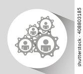 teamwork concept design  | Shutterstock .eps vector #408803185
