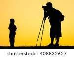 silhouette people of... | Shutterstock . vector #408832627