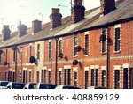 Row Of Typical English Terrace...